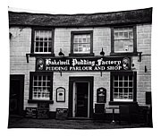 Bakewell  Pudding Factory In The Peak District - England Tapestry