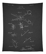 Barber Shears Patent 1927 Tapestry