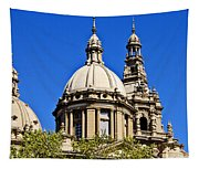 Barcelona Architecture Tapestry
