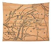 Battle Of Gettysburg, 1863 Tapestry