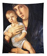 Bellini's Madonna And Child Tapestry