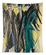 Berlin Street Scene Tapestry