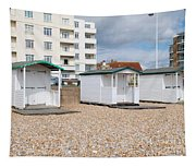 Bexhill Beach Huts Tapestry