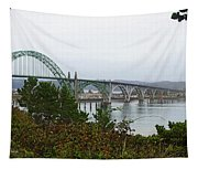 Big River Bridge Oregon Coast Tapestry