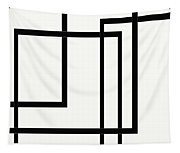 Black And White Art - 144 Tapestry