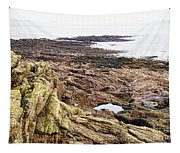 Brittany Coast Tapestry