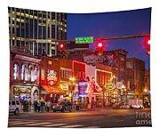 Broadway Street Nashville Tapestry