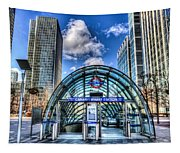 Canary Wharf Station Tapestry