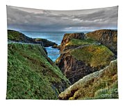 Carrick-a-rede Rope Bridge Tapestry