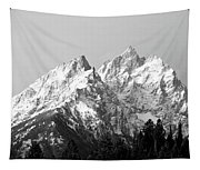 Cathedral Group Grand Teton National Tapestry