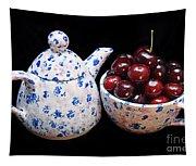 Cherries Invited To Tea Tapestry