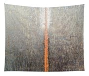 Close-up Of A Metal Wall Surface Tapestry