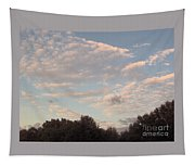 Clouds Above The Trees Tapestry