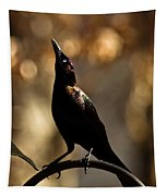 Common Grackle Tapestry