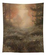 Dew Drenched Furze  Tapestry
