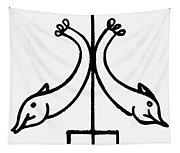 Early Christian Symbol Tapestry