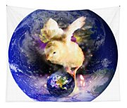 Earth Chick Tapestry