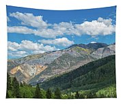 Elevated View Of Trees On Landscape Tapestry