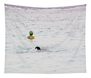 Enjoying The Water In The Coral Reef Lagoon Tapestry