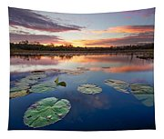Everglades At Sunset Tapestry