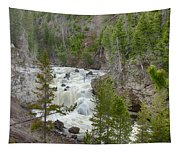 Firehole Falls Tapestry
