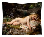 Forest Nymph Tapestry