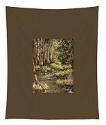 Forest Stream Tapestry