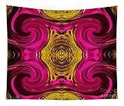 Fuchsia Sensation Abstract Tapestry