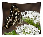 Giant Swallowtail Butterfly  Tapestry