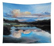 Hawaiian Wave Pool At Dusk Tapestry