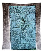 Headstone Abstract Tapestry