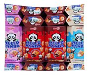 Hello Panda Biscuits Tapestry