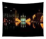 Historic Temple And Square In Salt Lake Tapestry