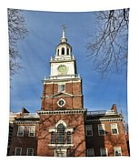 Independence Hall In Philadelphia Tapestry