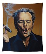 Jack Nicholson Painting Tapestry