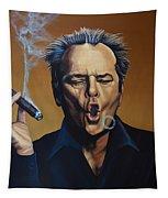 Jack Nicholson Painting Tapestry