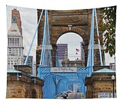 John Roebling Bridge 1867 Tapestry