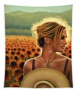 Julia Roberts Tapestry by Paul Meijering
