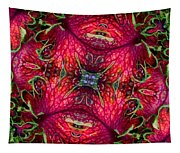 Kaleidoscope Made From An Image Of A Coleus Plant Tapestry
