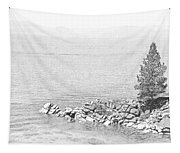 Lake Tahoe Rocky Point Tapestry