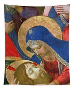 Lamentation Over The Dead Christ Tapestry