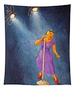 Latina Jazz Diva Tapestry