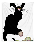 Le Chat Noir - Easter Tapestry