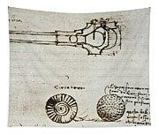 Leonardo Da Vinci Tapestry