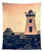 Lighthouse Prince Edward Island Tapestry by Edward Fielding