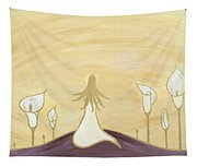 Lilies Of The Field Tapestry
