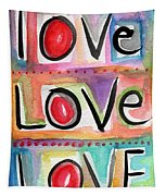 Love Tapestry by Linda Woods