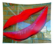 Luscious Lips Tapestry