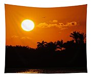 Marco Island Sunset Tapestry