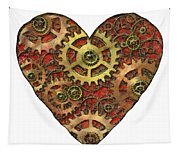 Mechanical Heart Tapestry